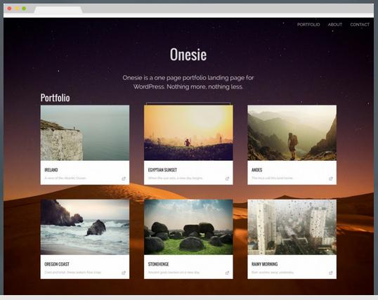 Temas Para WordPress GrátisOnesie